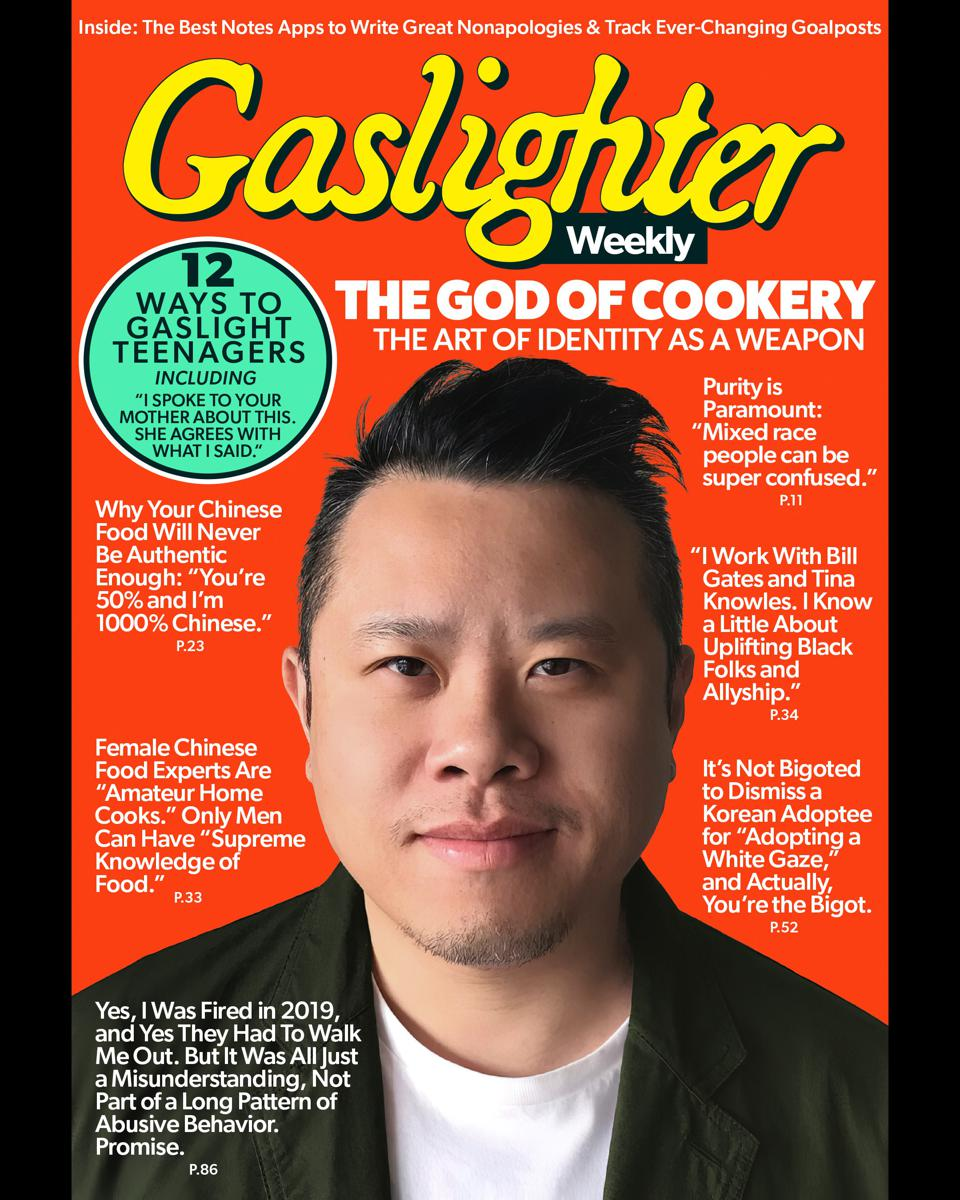 Gaslighter Weekly cover featuring Clarence Kwan