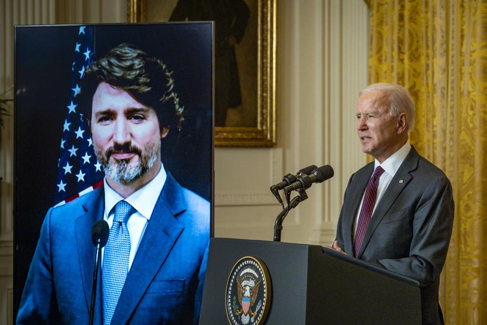 President Biden Meets With Canadian Prime Minister Trudeau