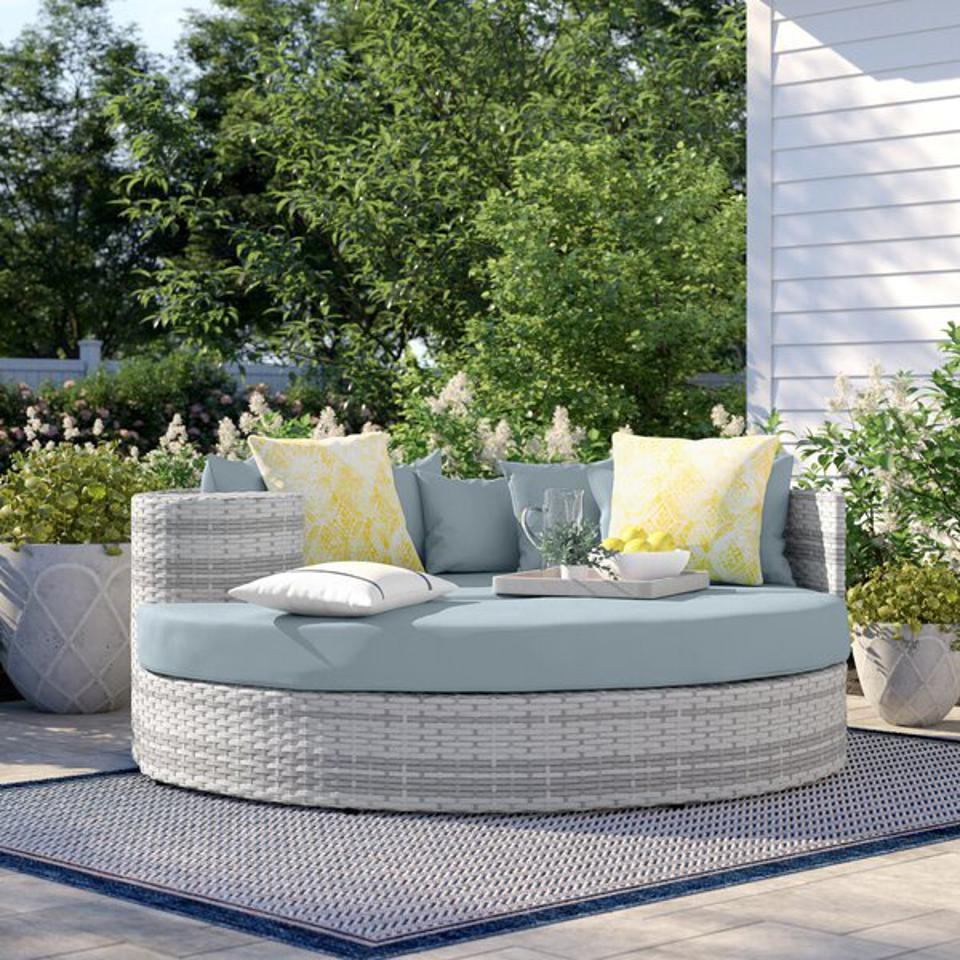 Sol 72 Outdoor™ Falmouth Patio Daybed with Cushions & Reviews | Wayfair
