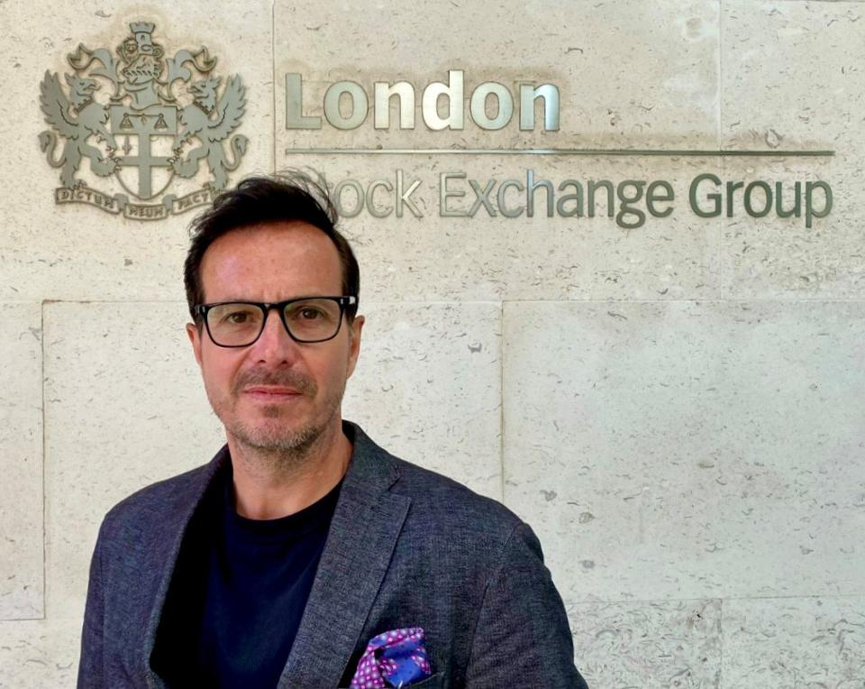 A picture of Simon Sear, founder of Studio 44