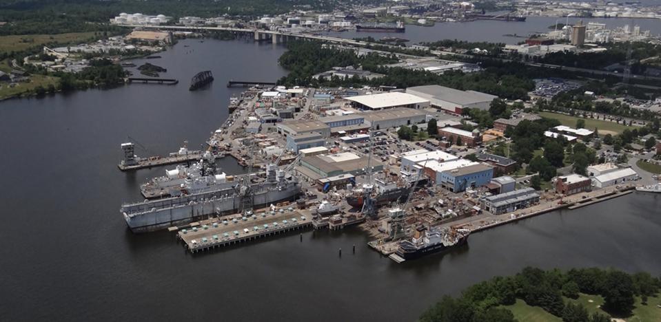 The Coast Guard Yard in Baltimore, Maryland.