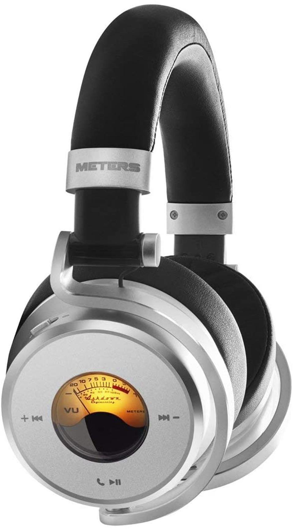 Side view of Meters OV-1-B-Connect headphones