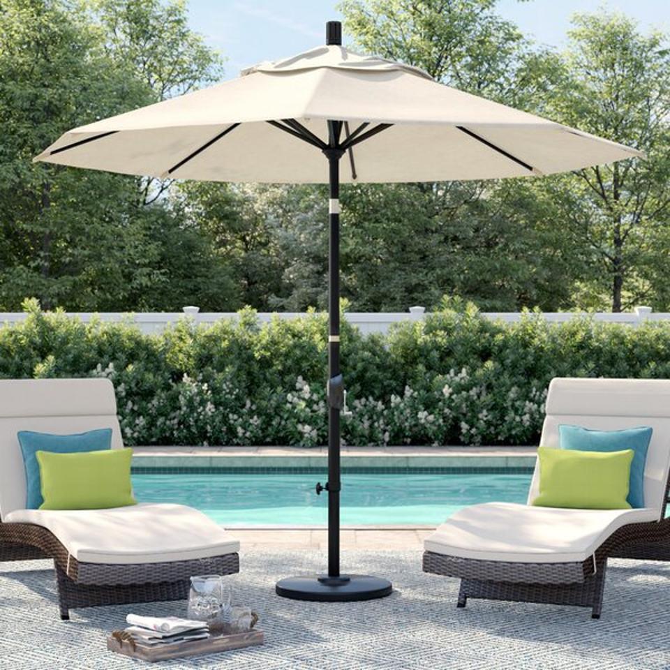 Sol 72 Outdoor™ Carina 9' Market Umbrella & Reviews | Wayfair