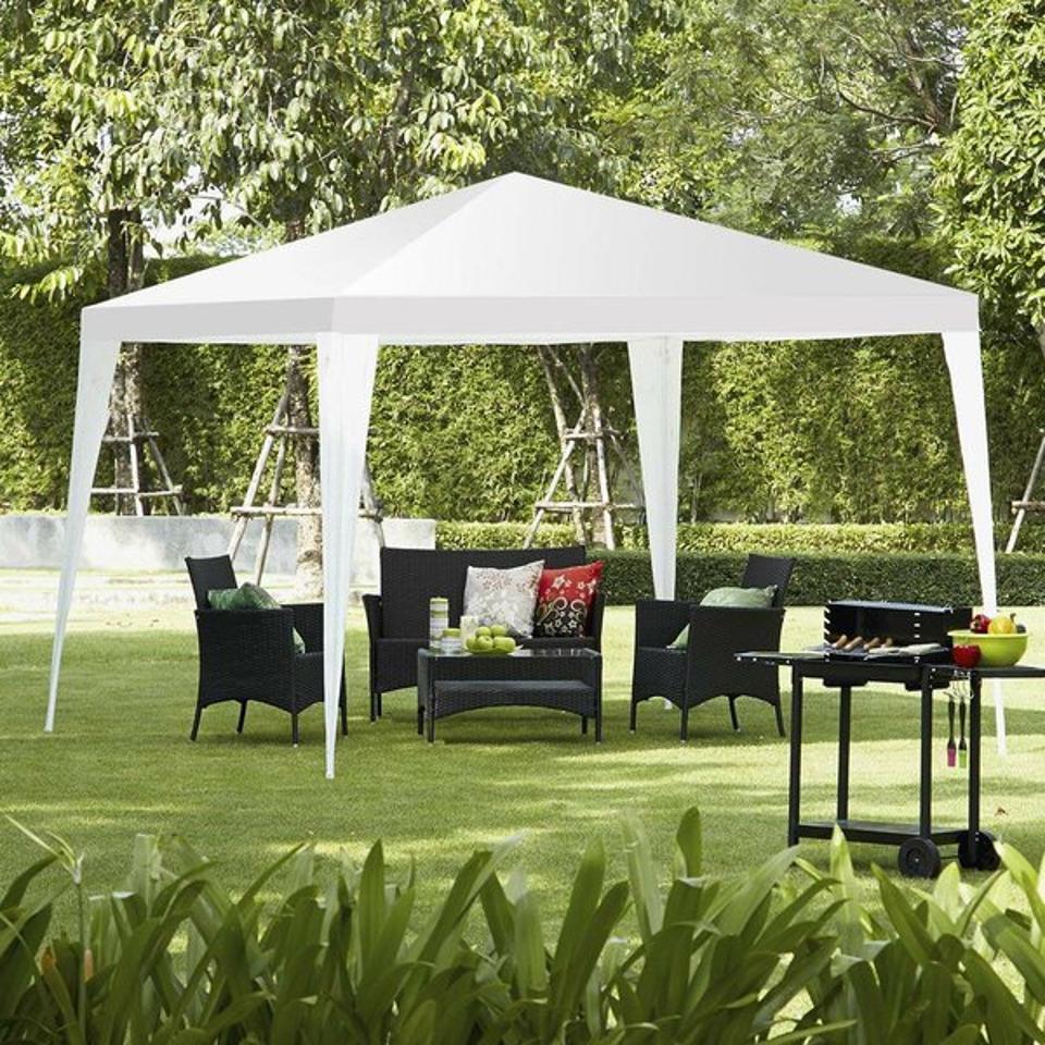 Winado Pavilion Cater Wedding Outdoor 10 Ft. W x 10 Ft. D Steel Pop-up Canopy | Wayfair
