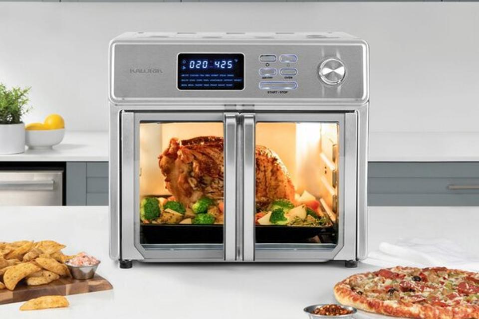 Way Day 2021: Kalorik 26 Quart Digital Air Fryer Oven, Stainless Steel – The Maxx™ & Reviews | Wayfair