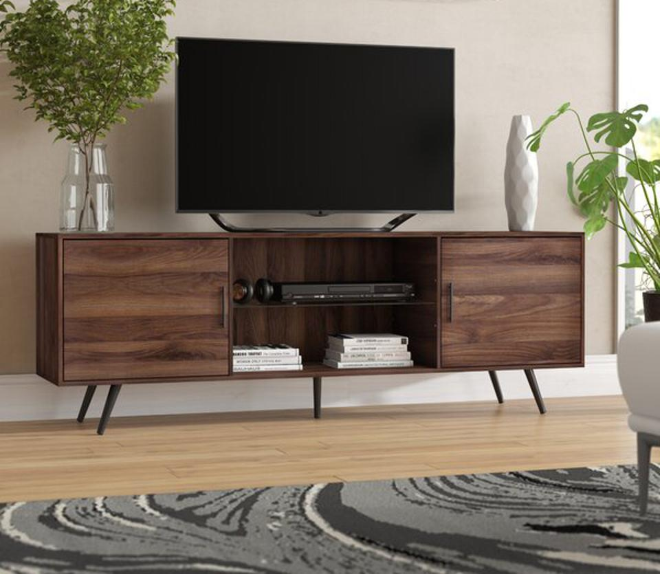 Way Day 2021: George Oliver Glenn TV Stand for TVs up to 78″ & Reviews | Wayfair