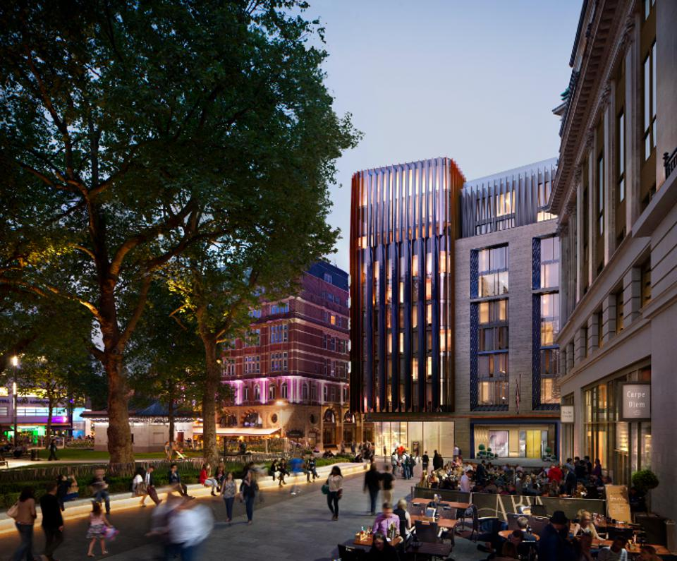 Rendering of The Londoner in Leicester Square