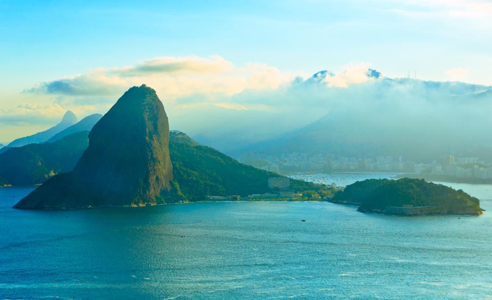Rio de Janeiro in Blue
