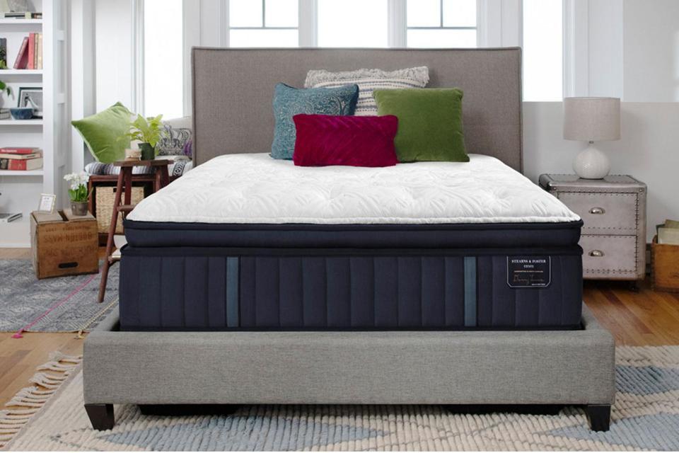 Stearns and Foster Lux Estate Cassatt Euro Pillow Top Mattress