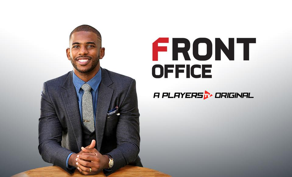 Chris Paul for Front Office series with PlayersTV