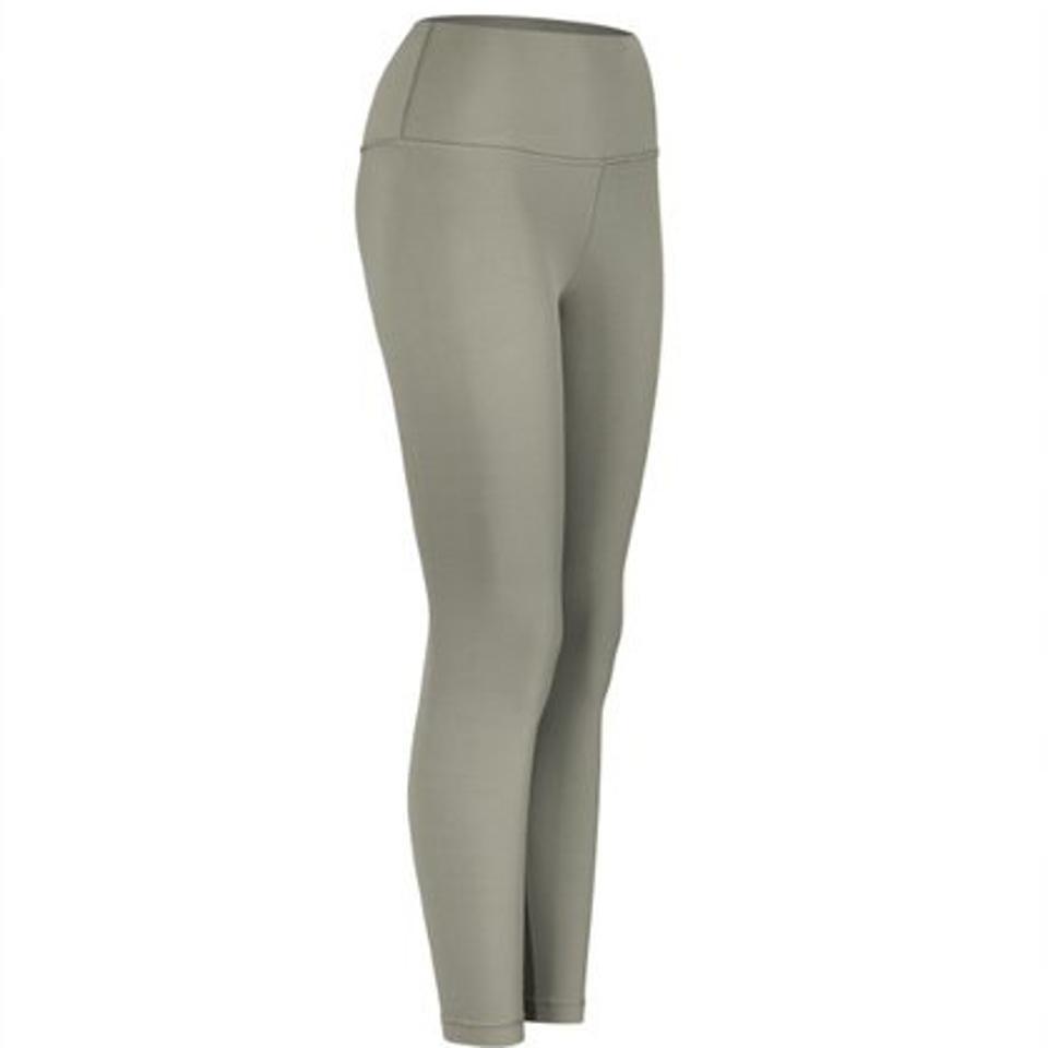 Lululemon Align Pant in Grey-Green.