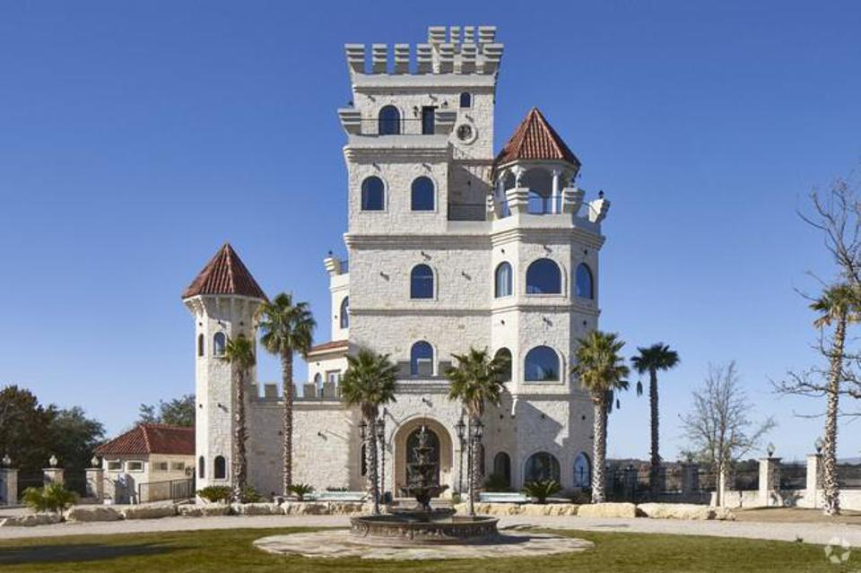 The house that became an 11,500 square foot castle