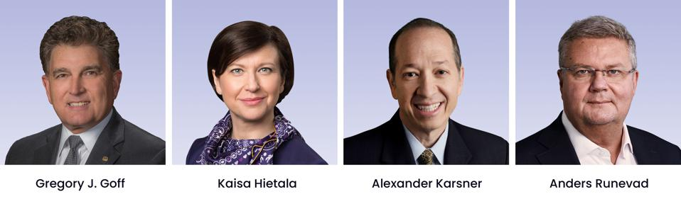 Engine No. 1's Nominations for the Board of Directors at ExxonMobil