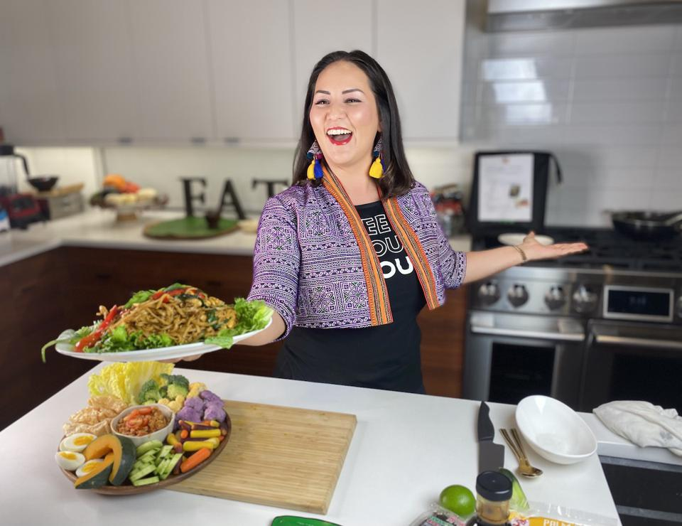 Chef Nikky serving up Thai fare with flair