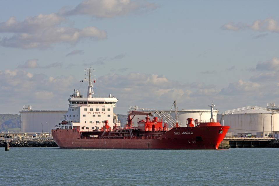 Oil Tanker, Port, Le Havre, Normandy, France