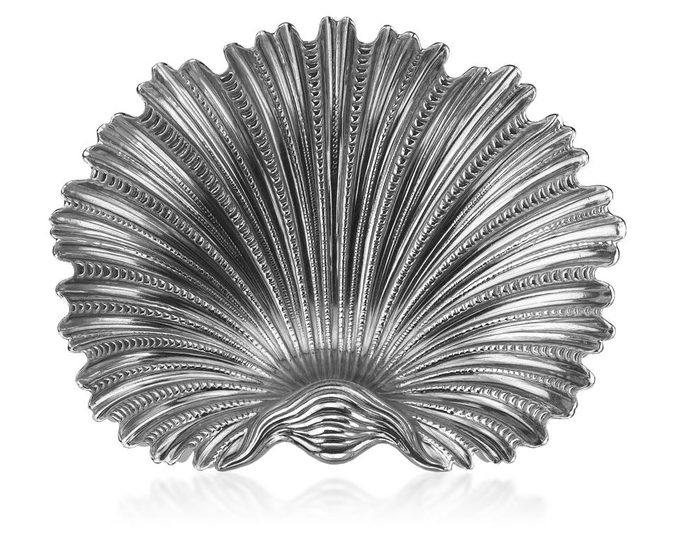 A shell bowl.