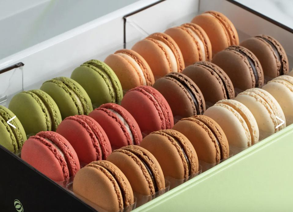 Bouchon Bakery Traditional Macarons