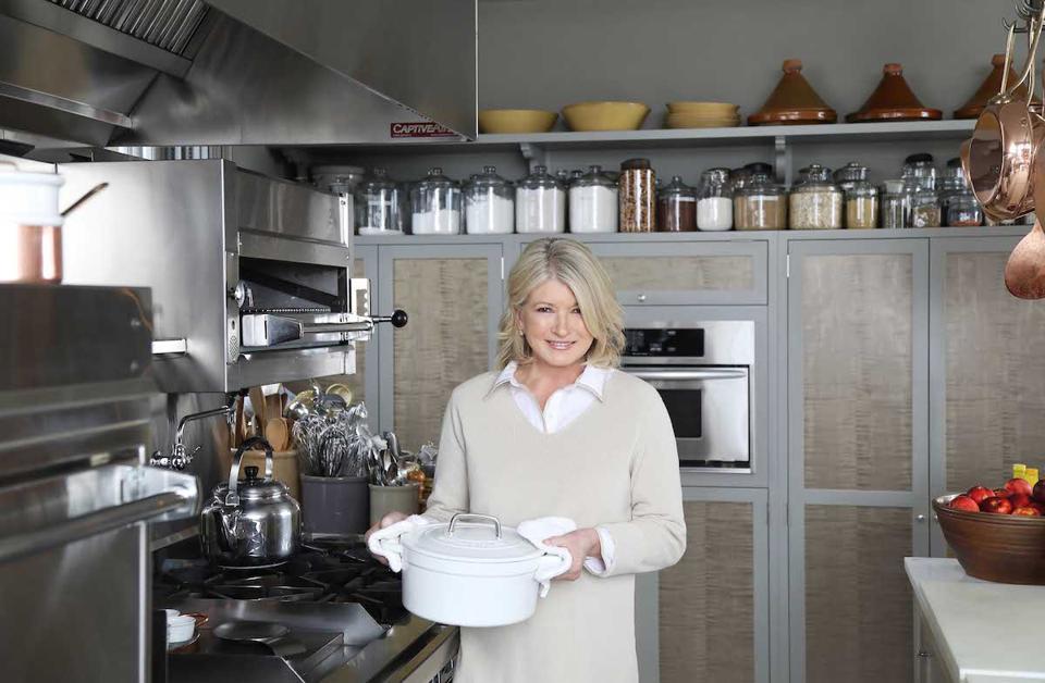 Celebrity chef Martha Stewart