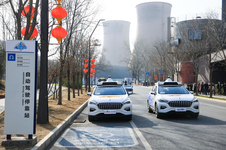Two cars in China