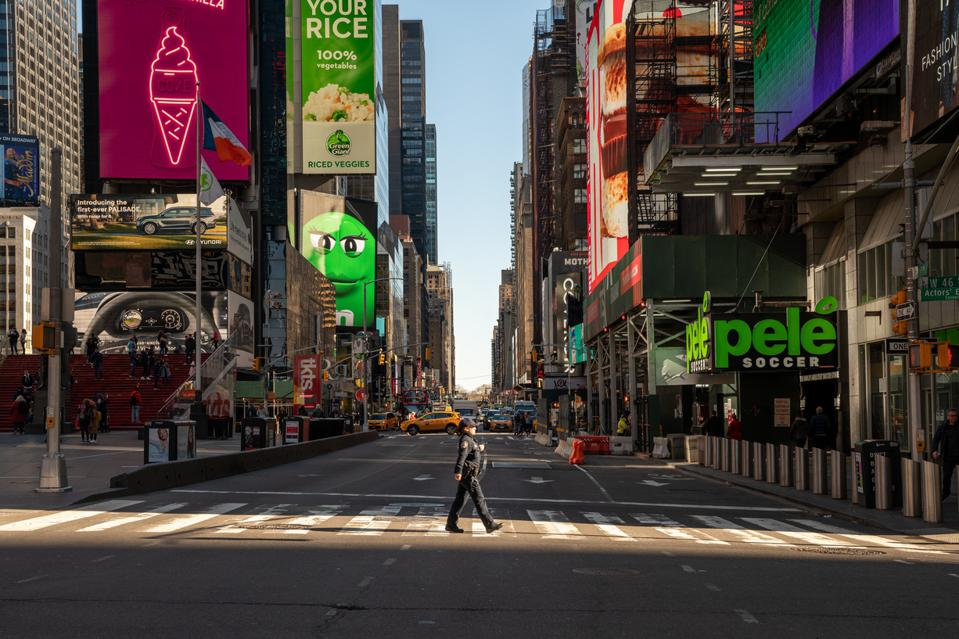 The once deserted New York City will reopen in July
