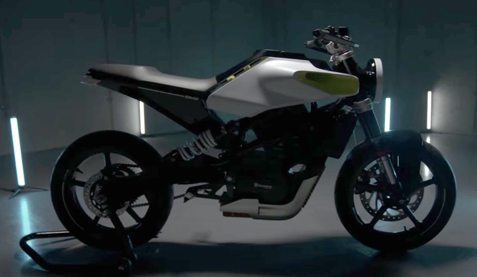 Husqvarna E-Pilen electric motorcycle