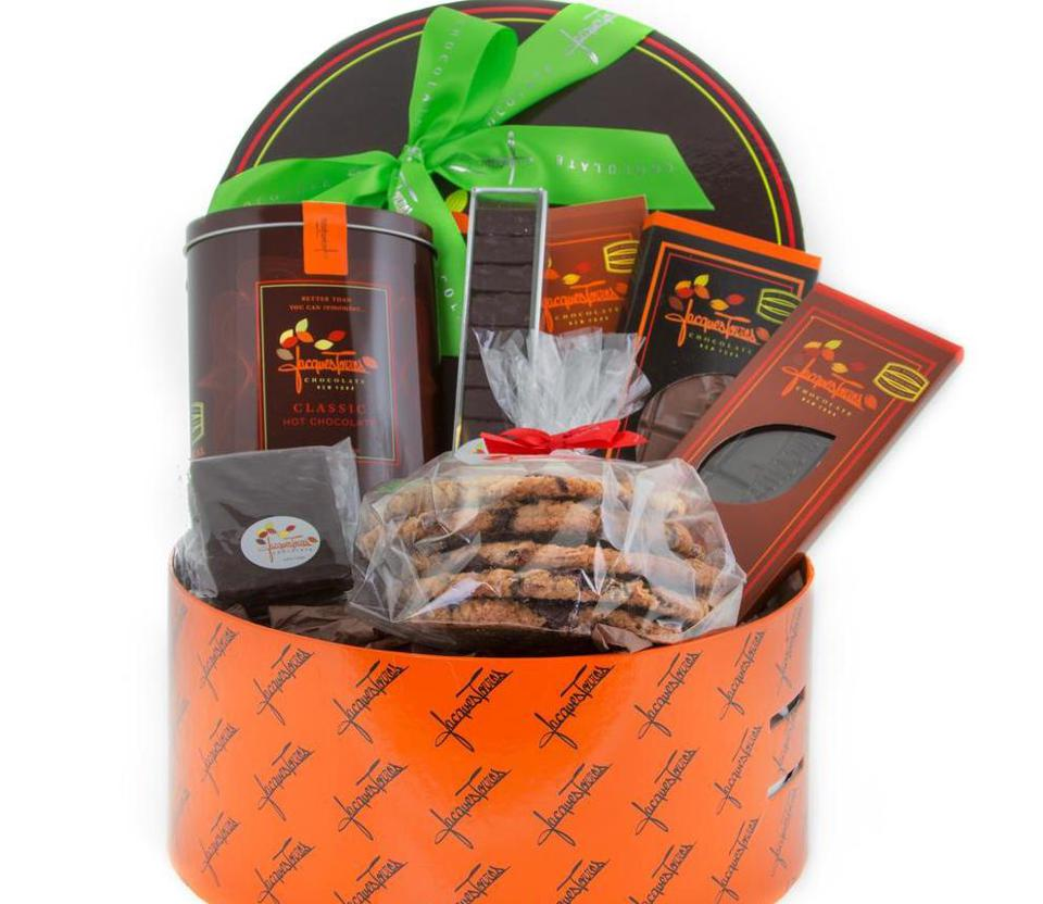 Jacques Torres Chocolate S'more Chocolate Hat Box