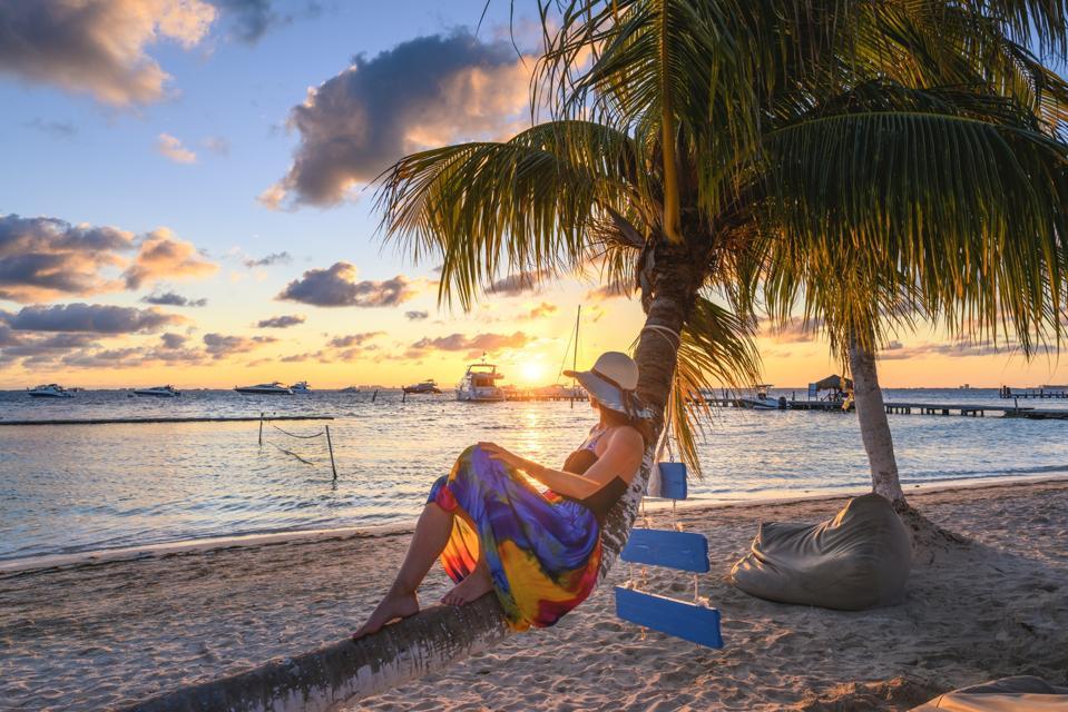 retire quit your job beach island Isla Mujeres, Cancun, Mexico