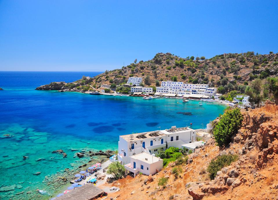 Crete, greece retire quit your job