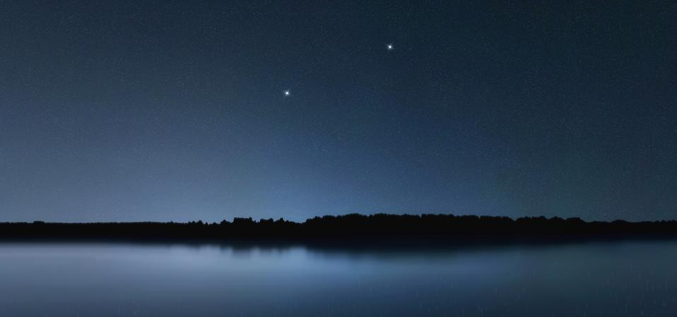 The constellation of Canes Venatici.