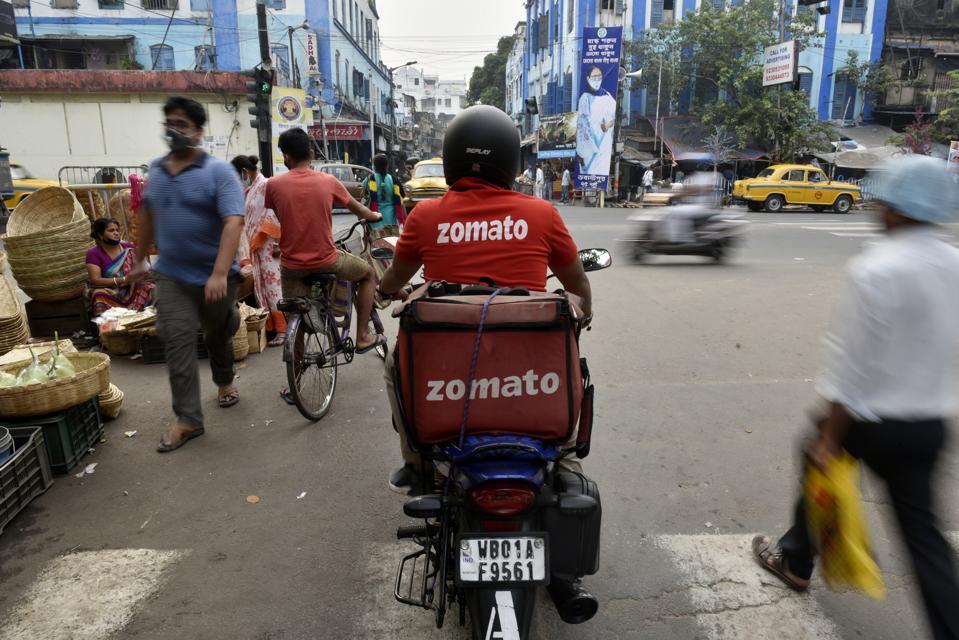 Indian food delivery unicorn Zomato