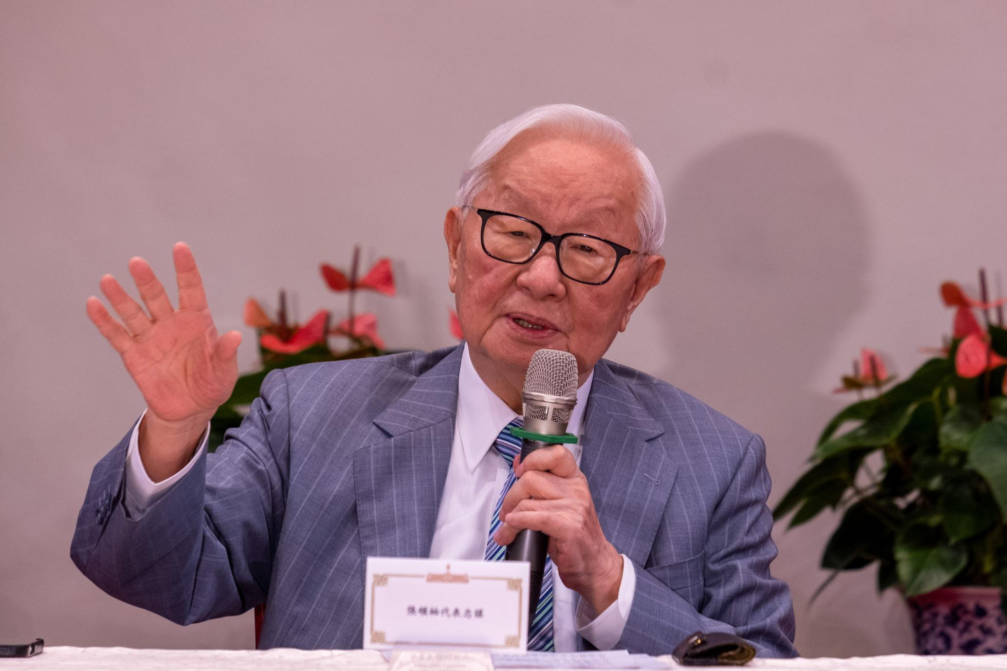 Morris Chang, founder of TSMC (Taiwan...