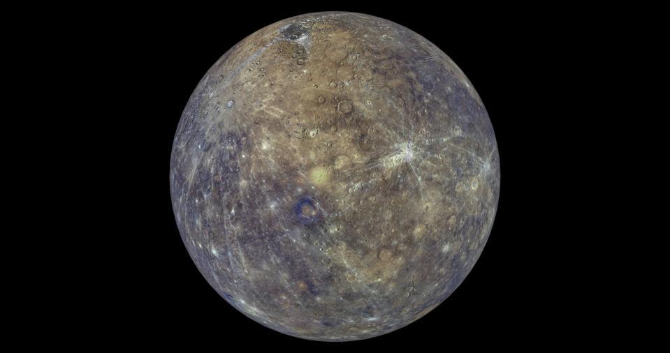 Minggu ini Little Mercury melihat tempat tertinggi di langit untuk tahun 2021.