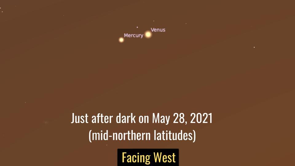 Παρασκευή 28 Μαΐου 2021: Ο υδράργυρος και η Αφροδίτη συνδέονται στενά