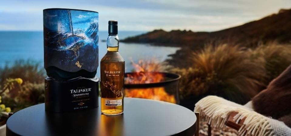 Talisker single malt Scotch whisky skye