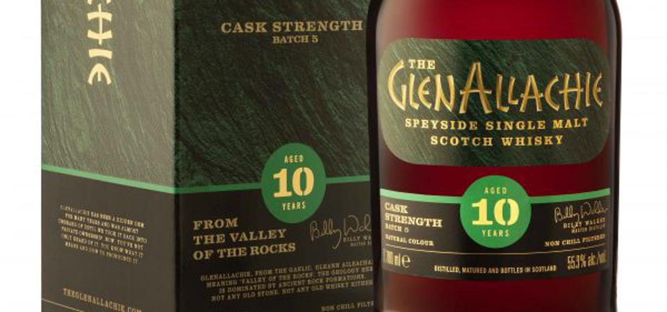 Glenallachie Cask Strength Single malt Scotch whisky