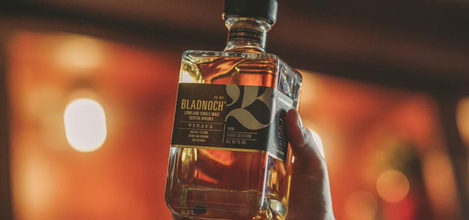 Bladnoch Vinaya single malt scotch whisky