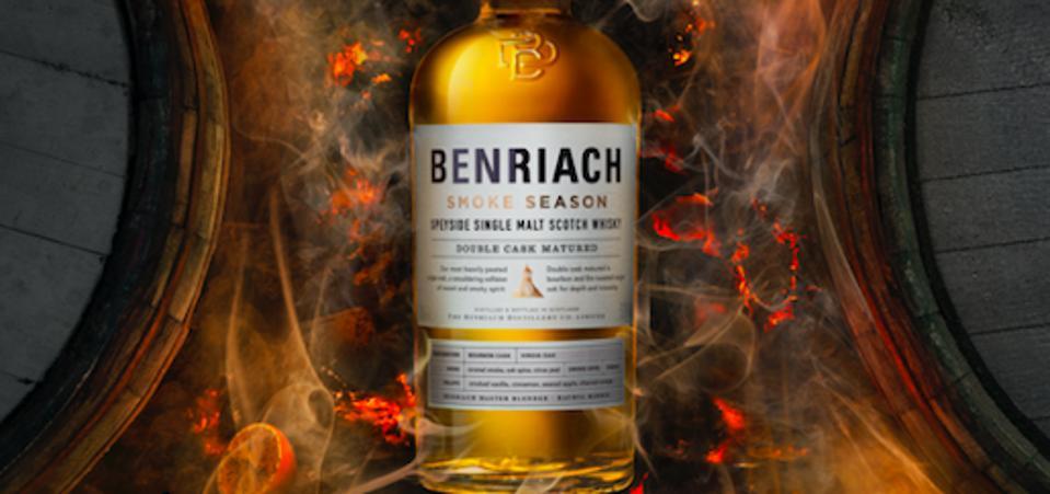 Benriach single malt scotch whisky speyside