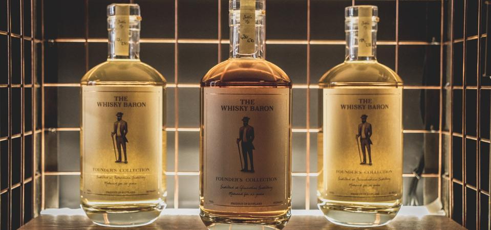 The Whisky baron single cask single malt scotch whisky