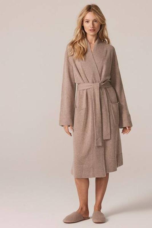 Women's Ynes Tie-Belt Cashmere Robe