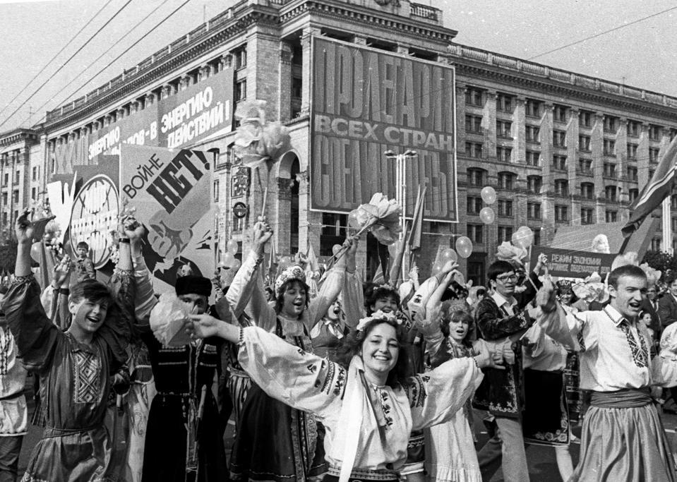 Рассказ фотографа Украины Чернобыль