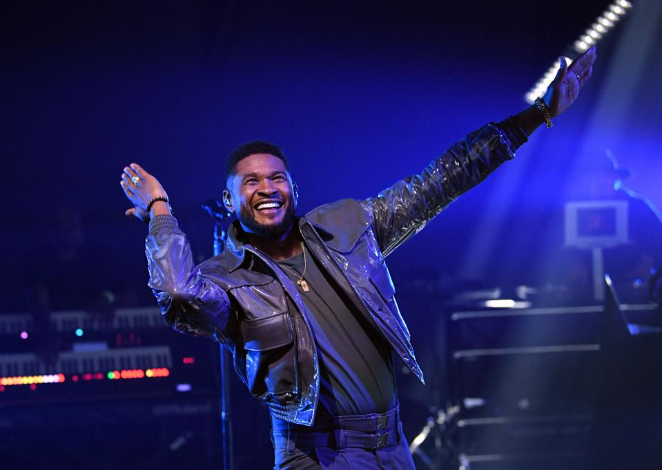 Usher at the 10th Anniversary iHeartRadio Music Festival – Day 2 – Sept. 19