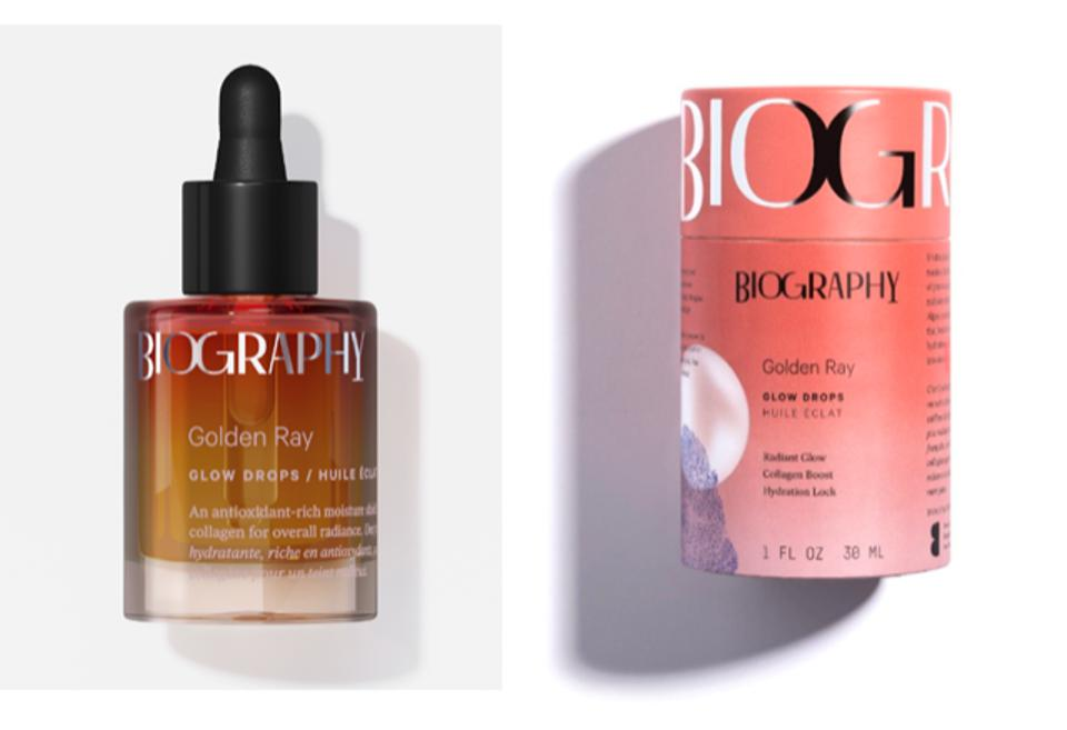 Golden Ray Glow Drops by Biography vegan
