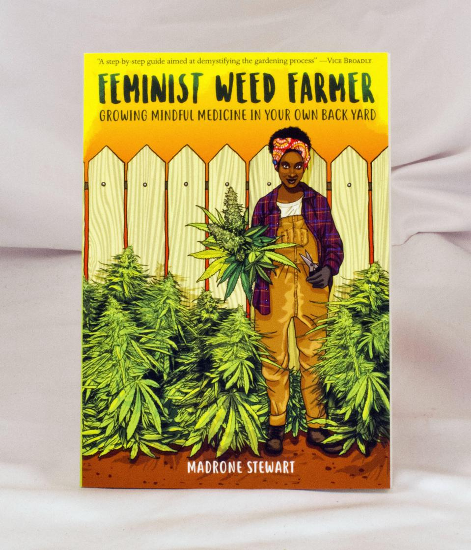 The cover of 'Feminist Weed Farmer' by Madrone Stewart