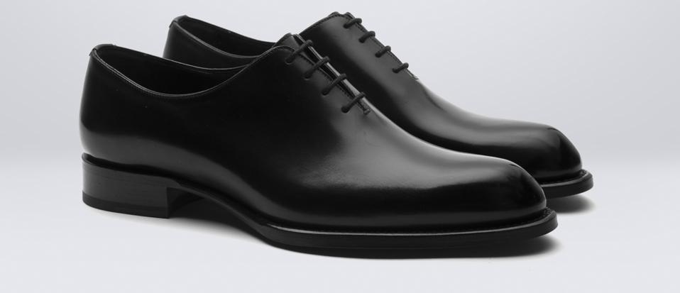 Brioni Black Cardinal Shoe