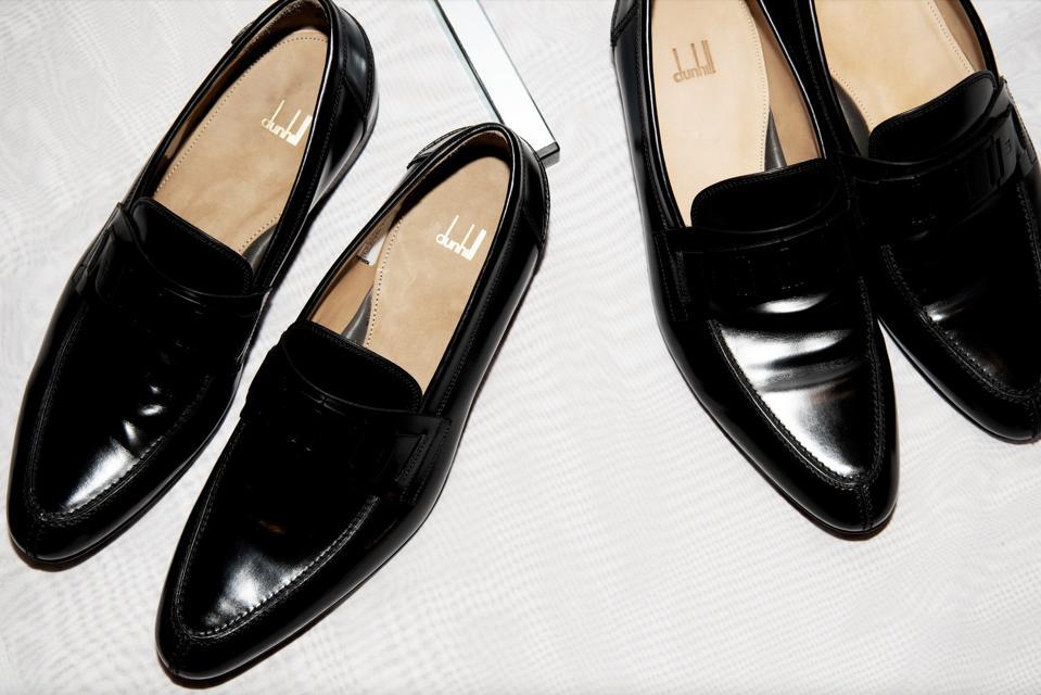 Dunhill Link Soft Loafer