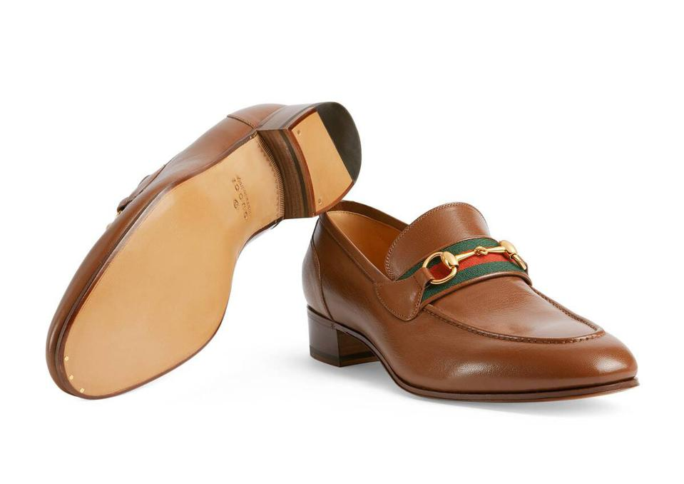 Brown Loafer with Horsebit