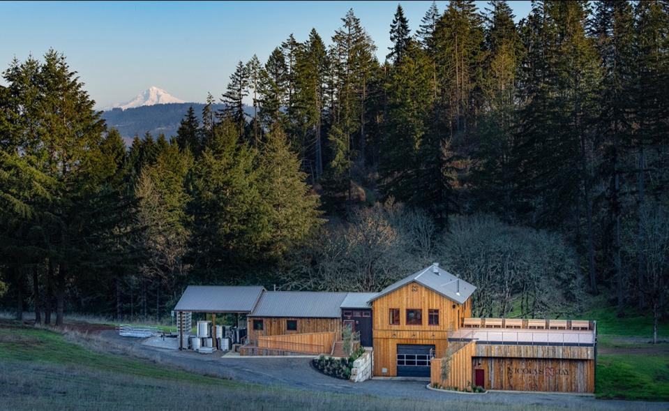 Nicolas-Jay winery and tasting room in Willamette Valley's Dundee Hills