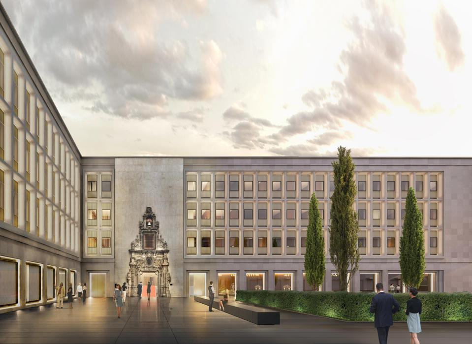 A rendering of the EDITION Madrid, the luxury hotel brand's second foray into Spain.
