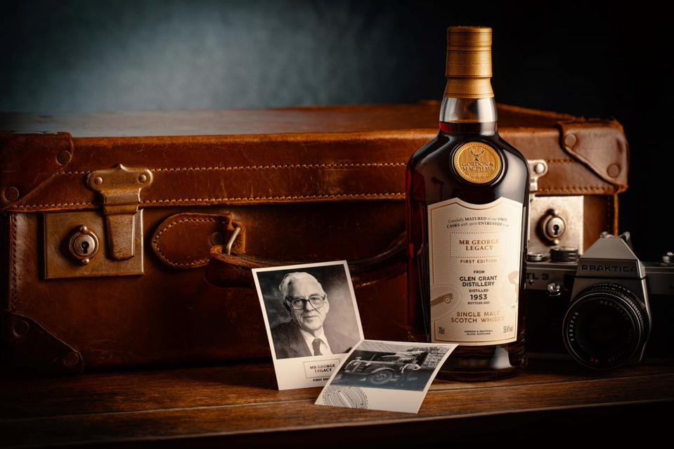 Mr George Legacy 1953 from Glen Grant Distillery, is an ultra-rare bottling of a 67 YO Sherry cask matured Glen Grant.