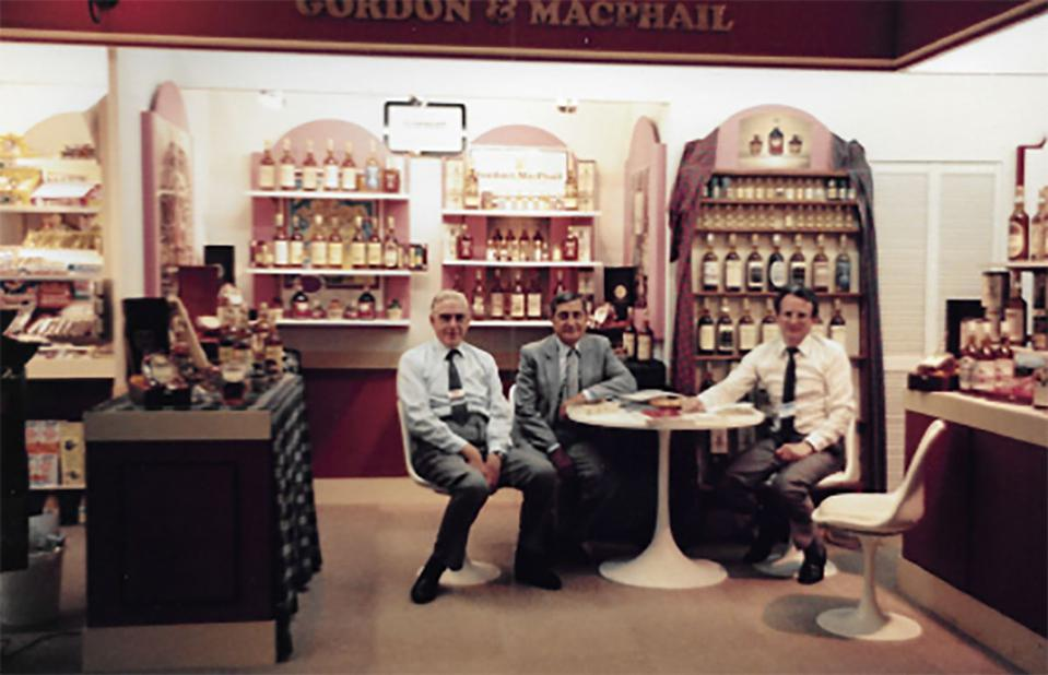 George Urquhart attending a Paris Whisky Show
